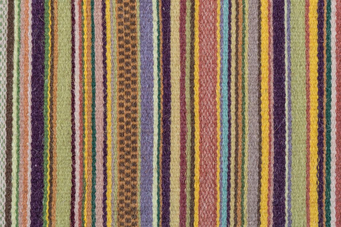 Tappeto a righe  Vetrine dellArtigiano Artistico